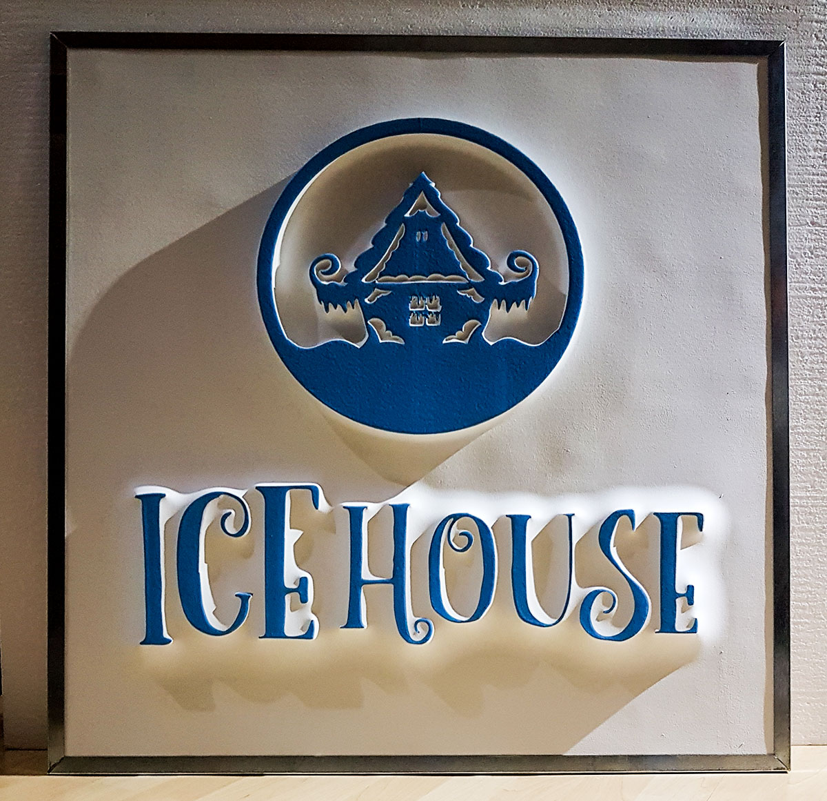 IceHouse 3D reklama
